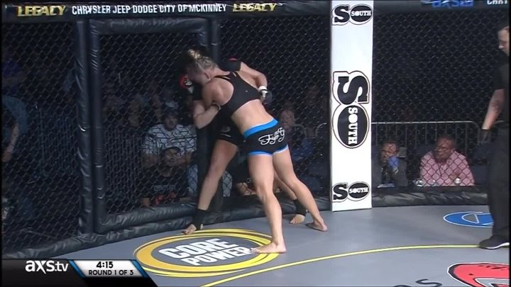 Holly holm vs Nikki Knudsen LFC 24