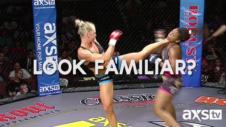 Holly Holm. Kicks