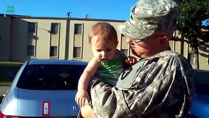 Soldier Meets Baby for First Time Compilation
