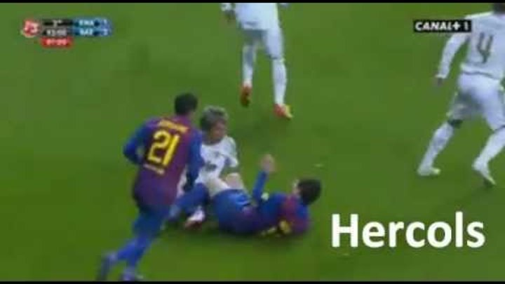 Coentrao kissed Messi