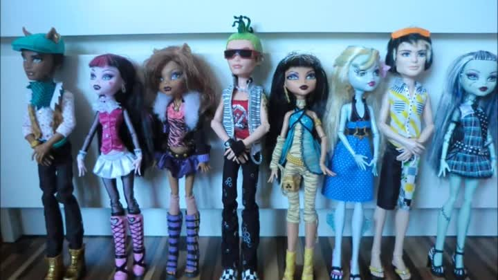 Monster High Stop Motion Part 2