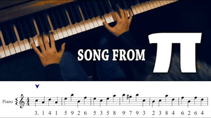 Song from π! (with Sheet Music/HQ Download)