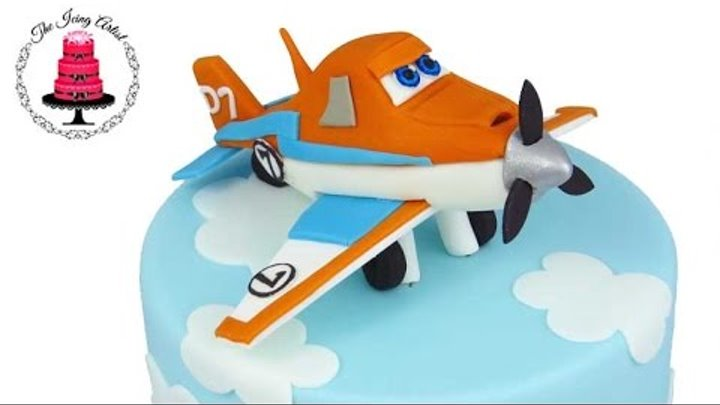 Dusty The Plane 3D Cake From Planes 2 - How To With The Icing Artist