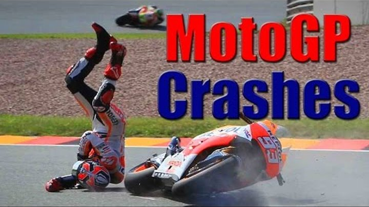Moto Crash Compilation || MotoGP Crashes