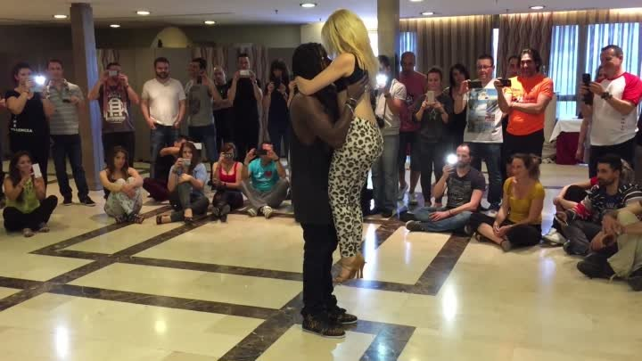 Enah & Carolina at Kizomba Valencia Festival 2015