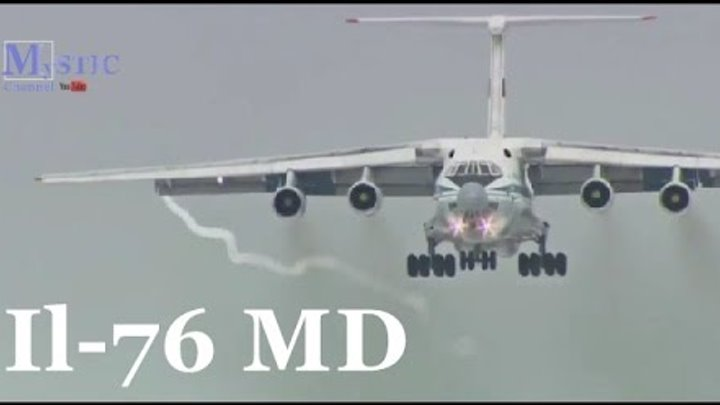 Il-76 MD Military Transport Aircraft (Vehicle Aircrafts F-15 F-16 Su-30 Su-35 T 50 F-22 F-35 HD)