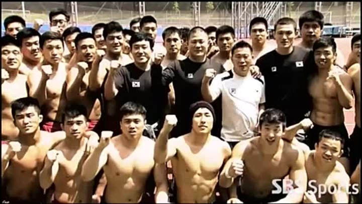 Korea National Wrestling Team Training at National Training Center