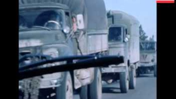 SYND 1 02 80 RUSSIAN PLANES AND CONVOYS AT KABUL AIRPORT AND ON ROADS