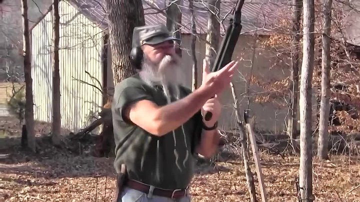 SRM 1216 12 Gauge Semi-Automatic Fighting Shotgun - Gunblastcom - YouTube