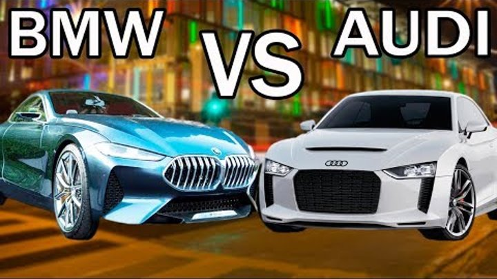 Кто круче в 2018 BMW 8 Series VS Audi A7 Sportback