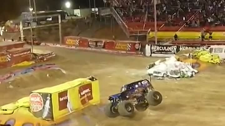 Incredible Monster Truck Backflip Grave Digger Ryan Anderson Son-uva Digger