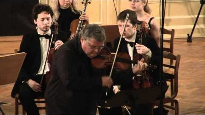 J.S. Bach - Concerto E-dur for violin and strings, BWV 1042 - I