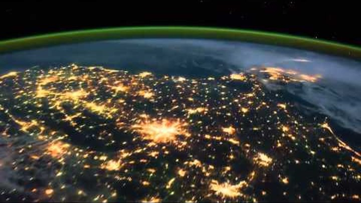 Earth HD  Time Lapse View from Space, Fly Over   NASA, ISS