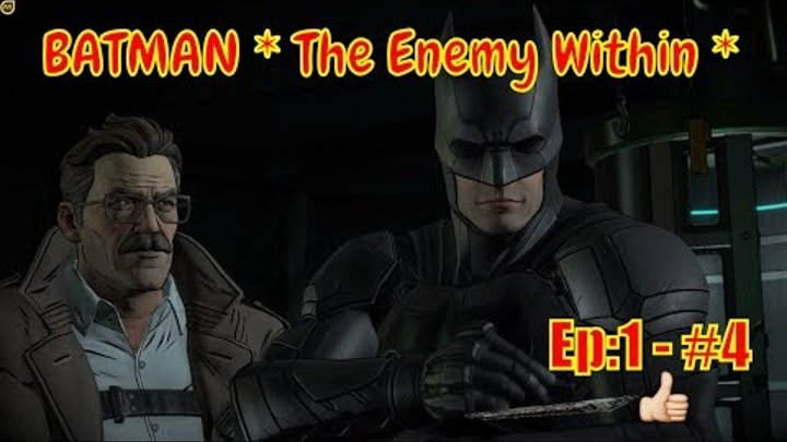 """🕵 BATMAN * The Enemy Within * 🕵: """"The Trap - Episode 1"""" - part#4"""