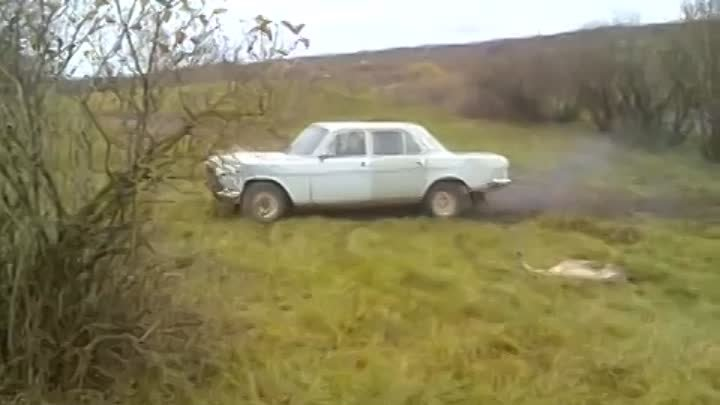 GAZ 2410 Volga want's to fly