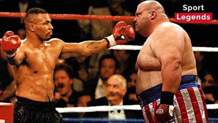 Legendary Boxer - Mike Tyson | Top 10 Best Knockouts HD