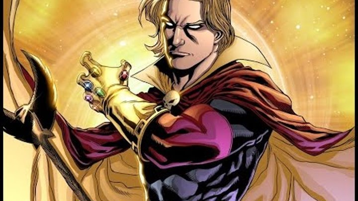 История легенды: Адам Уорлок Марвел / Adam Warlock Marvel Comics