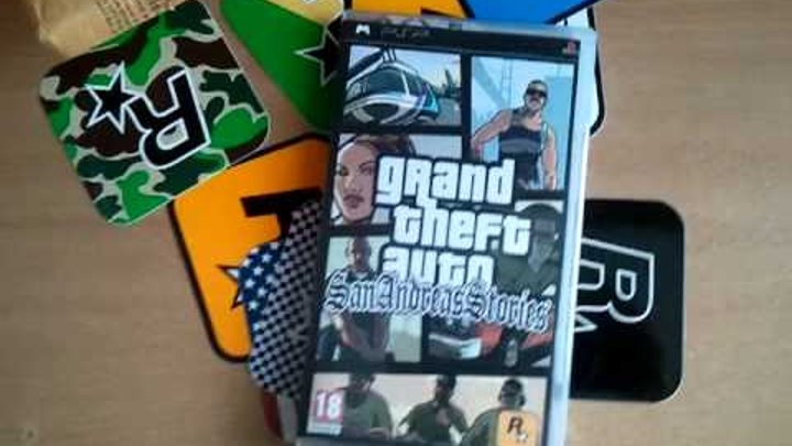 San Andreas Stories - PSP Unboxing