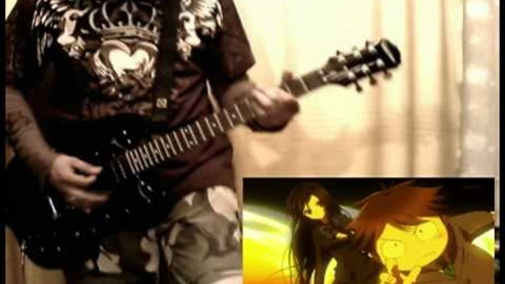Guitar Cover - Accel World [Chase The World] Opening by Boroda-kun