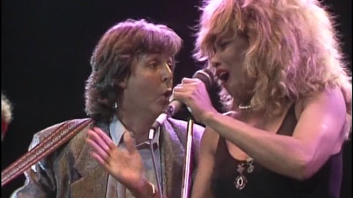 GET BACK - Paul McCartney,Tina Turner,E.Clapton,Dire Straits,B.Adams,E.John,P.Collins...(1986)