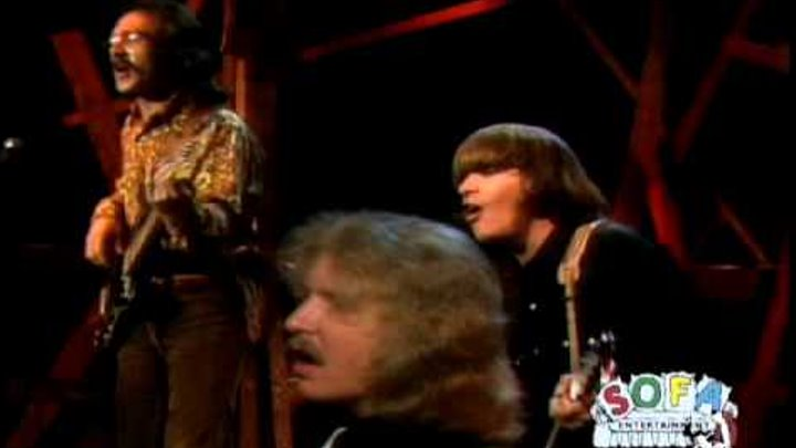 """CREEDENCE CLEARWATER REVIVAL """"Down On The Corner"""" on The Ed Sullivan Show"""