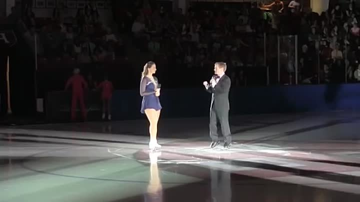 Ludmilla Belousova and Oleg Protopopov at 2015 An Evening With Champions