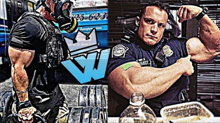 Top 10 Strongest Police Officers (Policemen in the GYM)