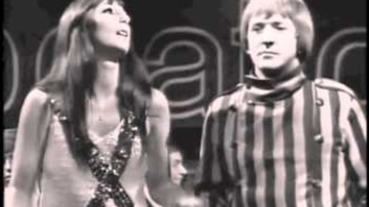 """SONNY & CHER - """"Little Man"""" (With Sonny Bono Intro) (HQ TV Performance On """"Beat-Club"""") 
