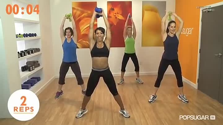 Booty Boot Camp Workout With Jeanette Jenkins