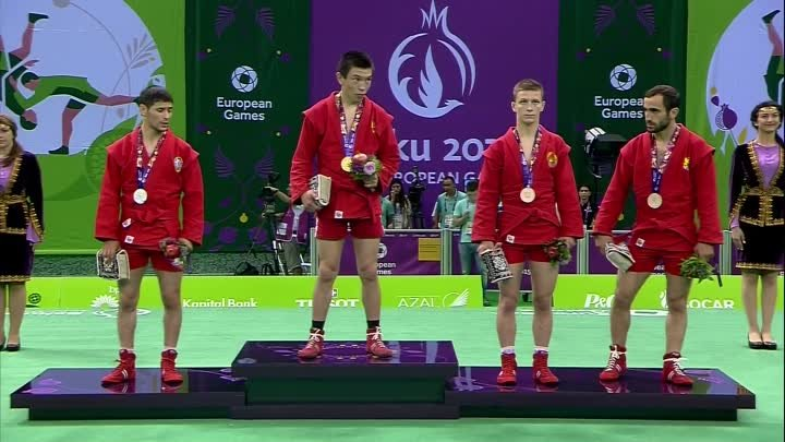 Aymergen Atkunov wins the Men's -57kg | Sambo | Baku 2015