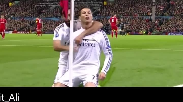 Cristiano Ronaldo Goal Against LiverPool 2014 HD English Commentary