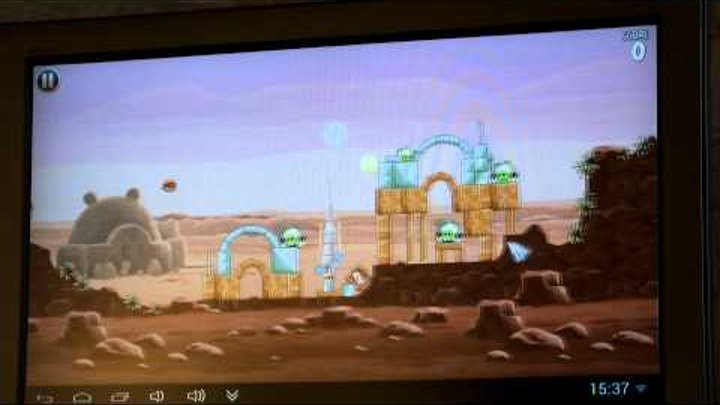 Angry Birds:Star Wars on Android TV (MK802 III)