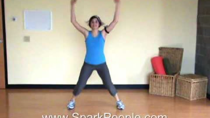 10-Minute Cardio Kickboxing Workout From @SparkPeople