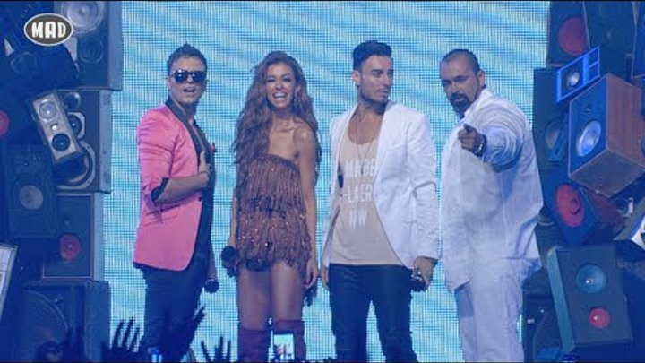Claydee ,Faydee , ΒΟ feat. Eλενη Φουρειρα- MAD VMA 2015 by Coca-Cola (Full Version)