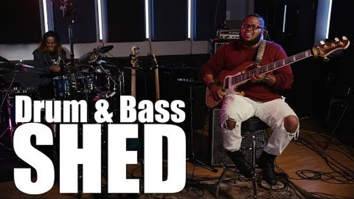 """Drum & Bass Shed (4K) - Kenneth """"Kaybass"""" Diggs and Fred Boswell Jr. on BASS SESSIONZ VOL. 3"""