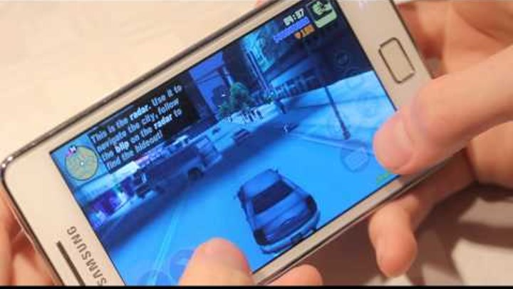 GTA 3 Samsung Galaxy S2 White Gameplay & Review Quick Hands-On! (HD) Part 1