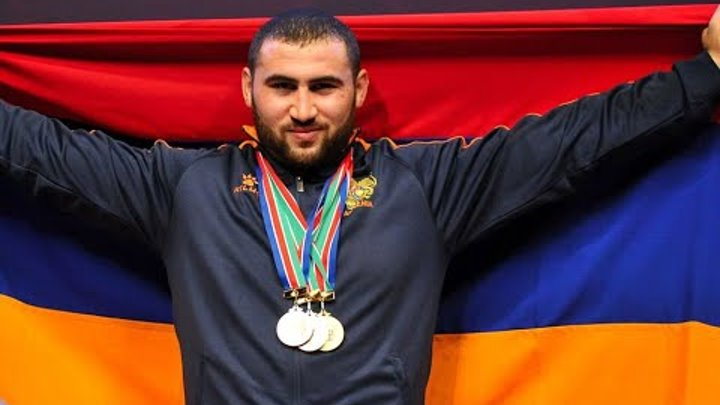 Симон Мартиросян - Чемпион мира и рекордсмен/Simon Martirosyan - 2018 World Weightlifting Champion