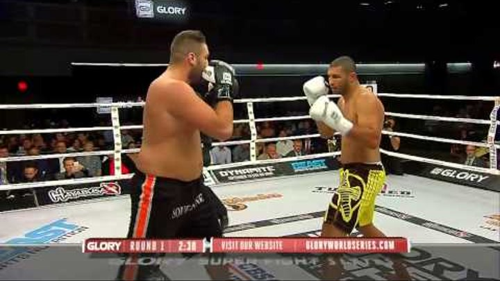 GLORY 23 Superfight Series: Anderson Silva vs Jamal Ben Saddik