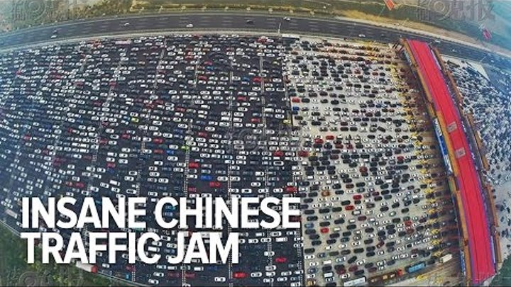 China has the most insane traffic jams in the planet