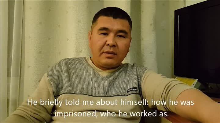 Interview with Kazakh Citizen who served Prison term with Saparmamed Nepeskuliev in Turkmenistan