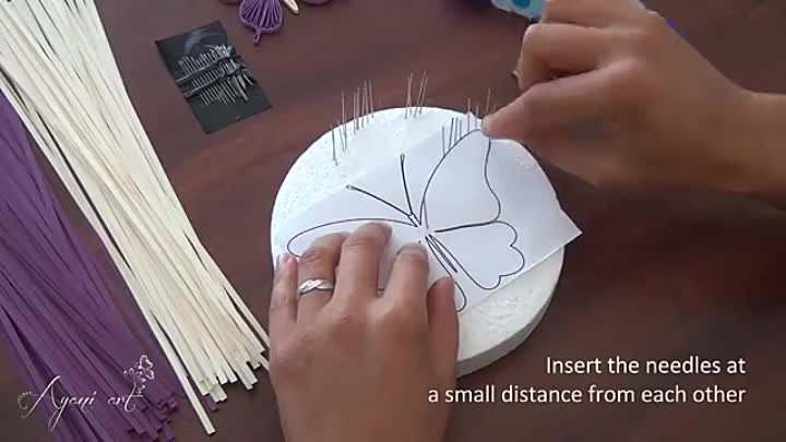 Butterfly Quilling Tutorial
