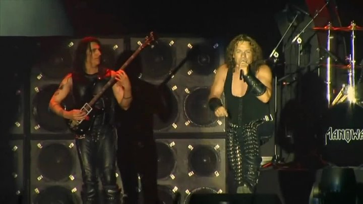 "Manowar - Metal Warriors (Live In Bulgaria, 2007)-musik.klub ROK- ДЖУНГЛИ!!! -""(official)"""