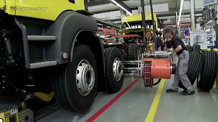 MAN Trucks Production