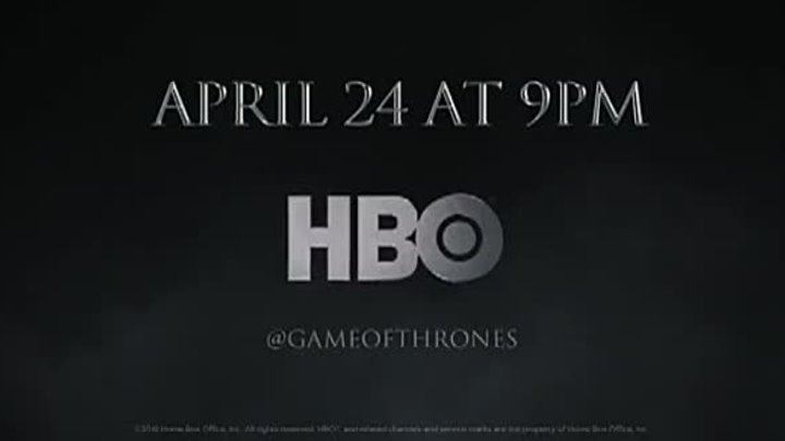 """Game of Thrones"" Season 6: Tease (HBO) April 2016"