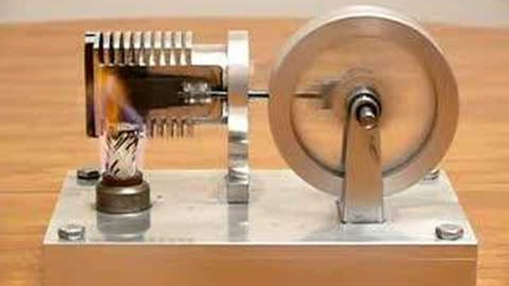 Stirling Engine- Flame Licker