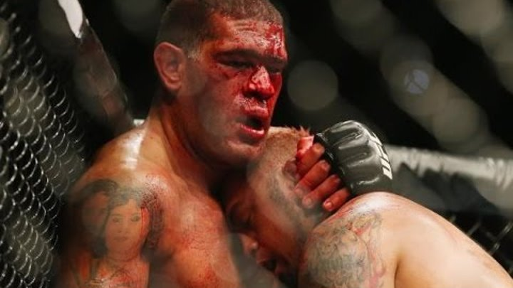 UFC Fight Night 33- Mark Hunt vs. Antonio Bigfoot Silva I - highlights MMA