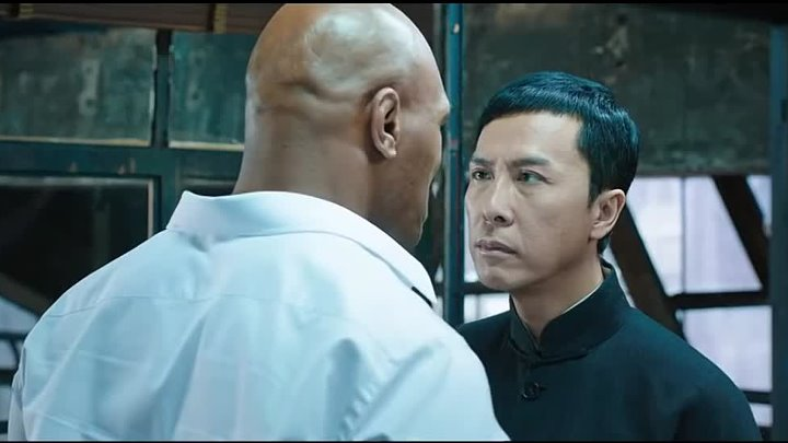 Ip Man 3 Fight Scene ( Ip Man vs Mike Tyson )