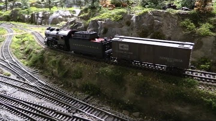 PENNSY LAYOUT PART 37 Steam H10 Local delivery Part 2