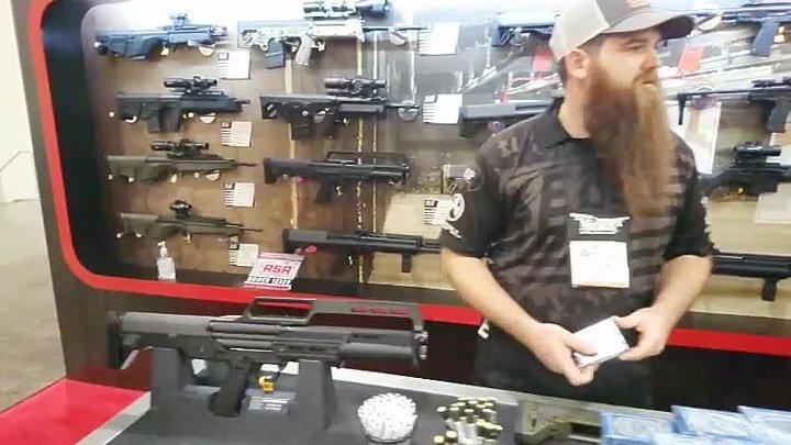 Оружейная выставка SHOT Show 2019. Часть II. Основная Оружейная экспозиция. Лас-Вегас, 24.01.2019