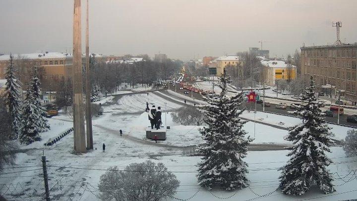 Тула. Площадь Победы - прямая трансляция